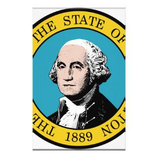 Washington State Seal Custom Stationery