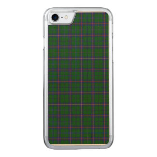 Washington State Tartan Carved iPhone 8/7 Case
