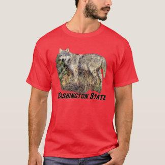 Washington State (Wolf) Adult Dark T-Shirt
