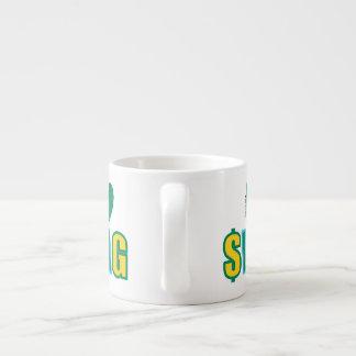 Washington Swag (on a bright) Espresso Cup
