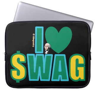 Washington Swag (on a darker-colored) Laptop Sleeve