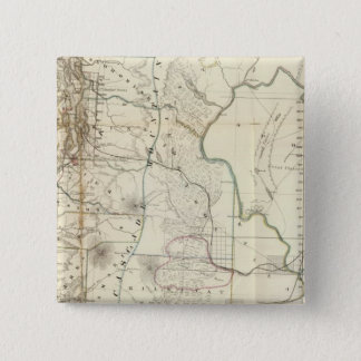 Washington Territory 15 Cm Square Badge
