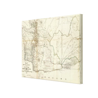 Washington Territory Canvas Print