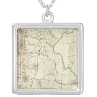 Washington Territory Silver Plated Necklace