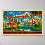 Washington - The Evergreen State Poster
