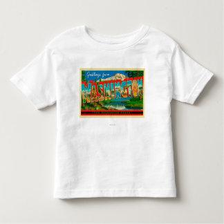 Washington - The Evergreen State Toddler T-Shirt