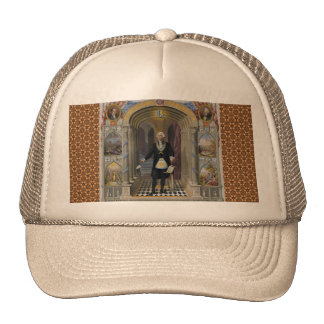 Washington The Mason II Mesh Hats