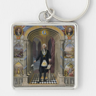 Washington The Mason II Key Ring