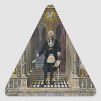 Washington The Mason II Triangle Sticker