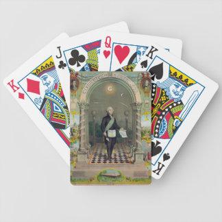 Washington The Mason Poker Deck