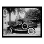 Washington Times Newspaper Truck 1920 Poster
