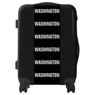 WASHINGTON, Typo black 2 Luggage