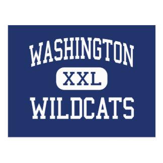 Washington - Wildcats - High - Pensacola Florida Postcards