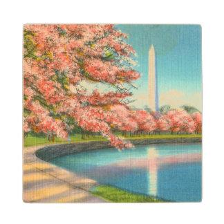Washington Wood Coaster