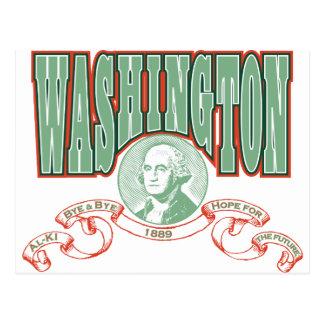 Washingtone Post Card