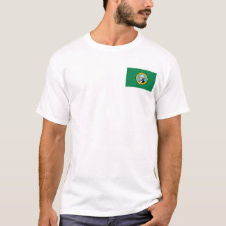 Washingtonian Flag + Map T-Shirt
