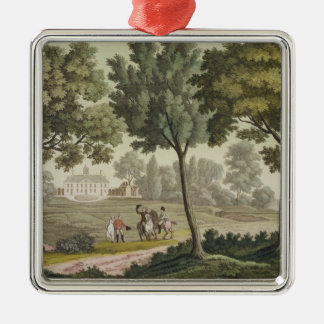 Washington's house at Mount Vernon, from 'Le Costu Christmas Ornament