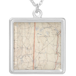 Washinton County Silver Plated Necklace