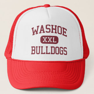 Washoe - Bulldogs - High School - Reno Nevada Trucker Hat