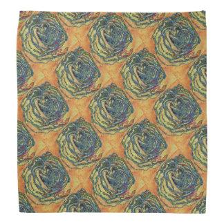 Washy Rose Pattern Bandana