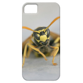 Wasp emerging from its hole iPhone 5 cover