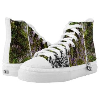wasp me strut printed shoes