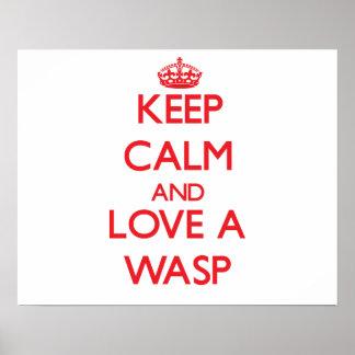 Wasp Print