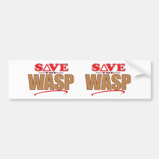 Wasp Save Bumper Sticker