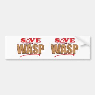 Wasp Save Bumper Sticker