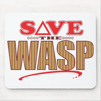 Wasp Save Mouse Mat
