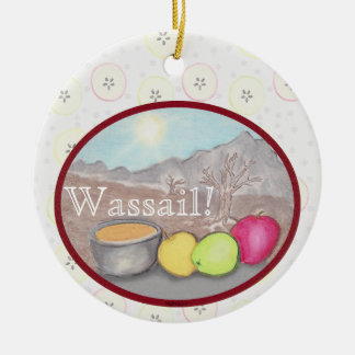 Wassail Apples Yule Solstice Christmas Ornament