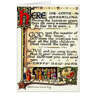 Wassail Greeting Card