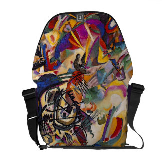 Wassily Kandinsky - Composition 7 Abstract Art Commuter Bags