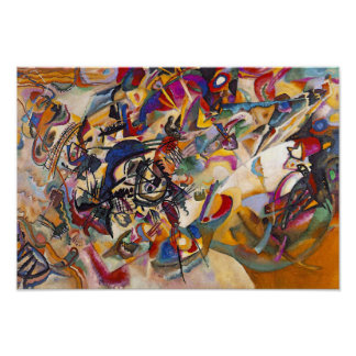 Wassily Kandinsky - Composition 7 Abstract Art Poster