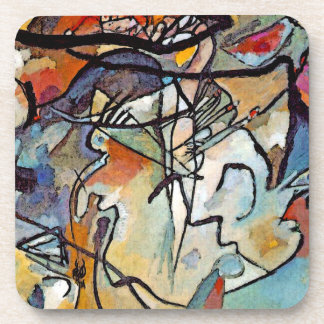 Wassily Kandinsky - Composition Five Abstract Art Coaster
