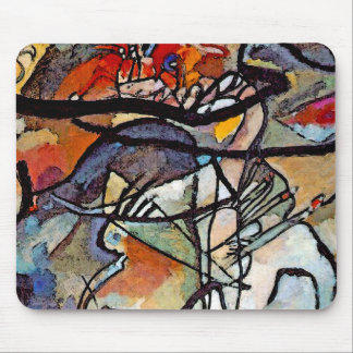 Wassily Kandinsky - Composition Five Abstract Art Mouse Pad