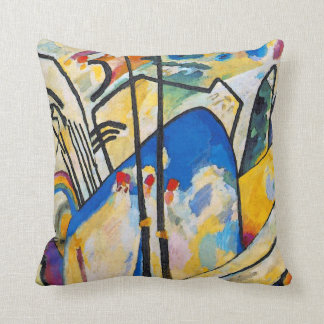 Wassily Kandinsky Composition Four - Abstract Art Throw Pillow