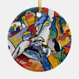 Wassily Kandinsky - Composition II Abstract Art Christmas Ornament