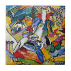 Wassily Kandinsky - Composition II Abstract Art Tile