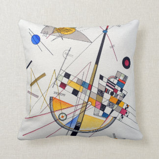 Wassily Kandinsky Delicate Tension Cushion