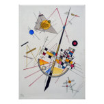 Wassily Kandinsky Delicate Tension Poster