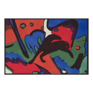 Wassily Kandinsky Franz Marc Blue Rider Painting Poster