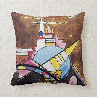 Wassily Kandinsky - Great Gate Of Kiev Abstract Cushion