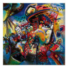 Wassily Kandinsky - Moscow Cityscape Abstract Art Poster