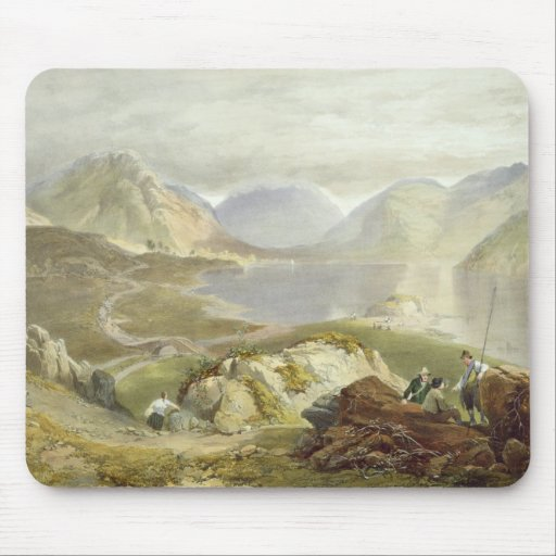Wast Water, from 'The English Lake District', 1853 Mouse Pads