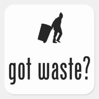 Waste Collector Sticker