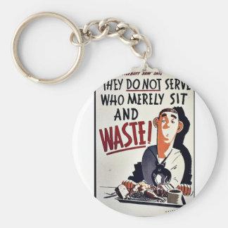 Waste Keychains