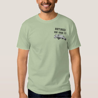 Waste Management Embroidered Shirt