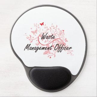 Waste Management Officer Artistic Job Design with Gel Mouse Pad