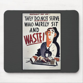 Waste Mouse Pads